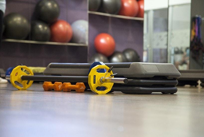 accesorios para gimnasios en hoteles